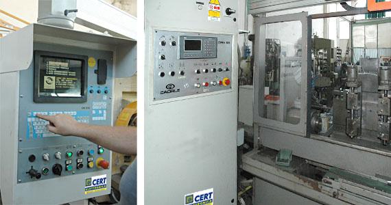 Cert elettronica assistenza elettronica macchine utensili